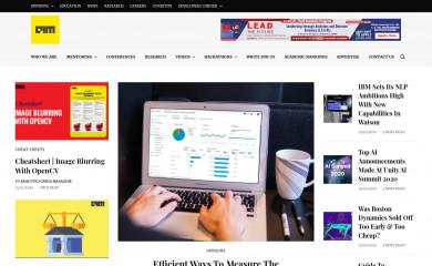 analyticsindiamag.com screenshot