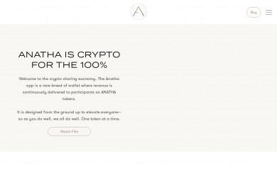 anatha.io screenshot