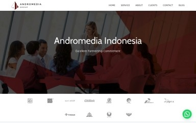 andromedia.co.id screenshot