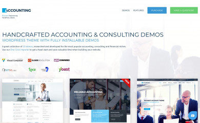 http://anpsthemes.com/accounting-landing-page/ screenshot