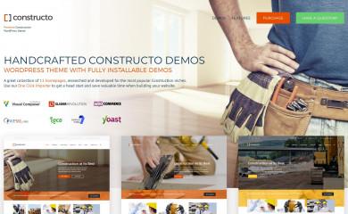 http://anpsthemes.com/constructo-landing-page/ screenshot