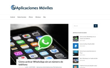 aplicacionesmoviles.net screenshot