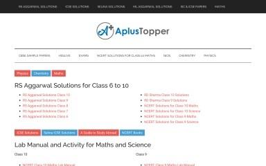 aplustopper.com screenshot