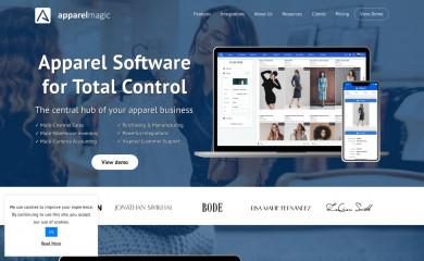 apparelmagic.com screenshot