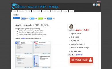 http://appserv.org screenshot
