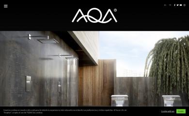 aqapiscinas.com screenshot