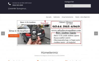 arkadasotoanahtar.com screenshot