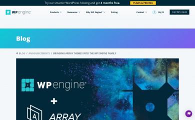 arraythemes.com screenshot
