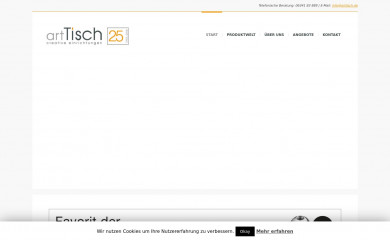 http://arttisch.de screenshot