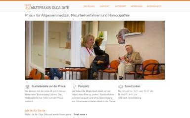 arztpraxis-dite-paderborn.de screenshot