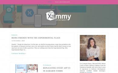askxammy.com screenshot