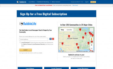 http://bubblelife.com screenshot