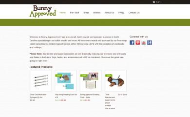 http://bunnyapproved.com screenshot