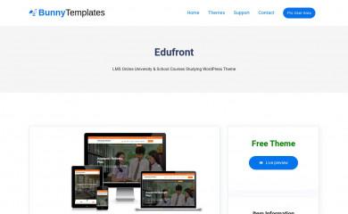 https://bunnytemplates.com/downloads/edufront screenshot