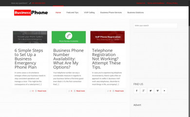 http://business-phone.org screenshot