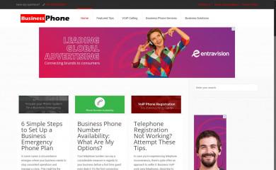 business-phone.org screenshot