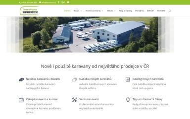 burimex.cz screenshot