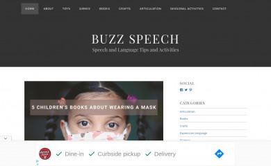 buzzspeech.com screenshot