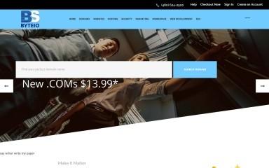 byteiosolutions.com screenshot