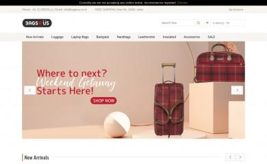 bagsrus.co.in screenshot
