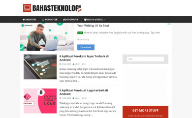 bahasteknologi.com screenshot