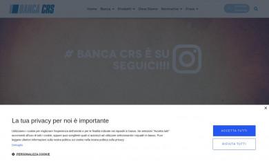 bancacrs.it screenshot