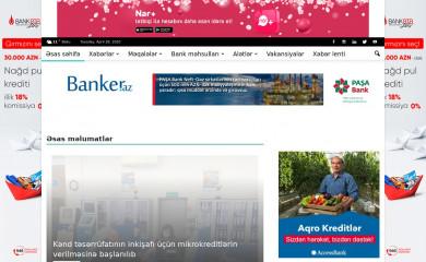 banker.az screenshot