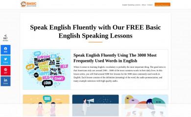http://basicenglishspeaking.com screenshot