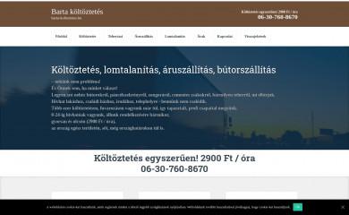 barta-koltoztetes.hu screenshot