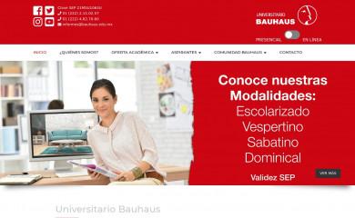 http://bauhaus.edu.mx screenshot