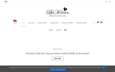 be-kissed.com screenshot