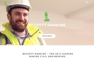 http://beckettrankine.com screenshot