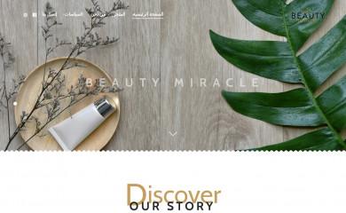 beautymiracle.net screenshot