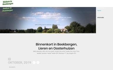 http://beekbergengastvrij.nl screenshot