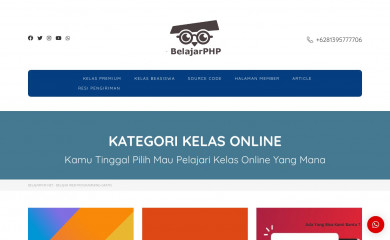 http://belajarphp.net screenshot