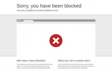 believemusic.com screenshot