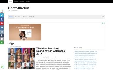 http://bestofthelist.com screenshot