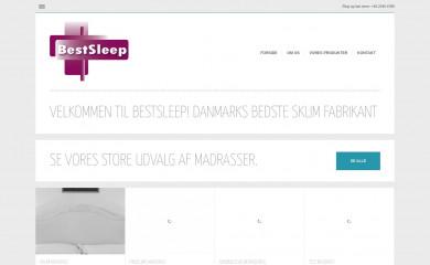 bestsleep.dk screenshot