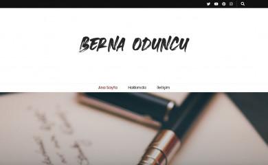 bernaoduncu.com screenshot