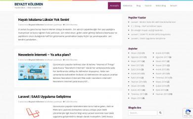 beyazitkolemen.com screenshot