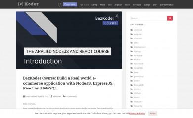 bezkoder.com screenshot