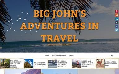 bigjohnsadventuresintravel.com screenshot