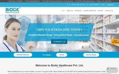biotichealthcare.com screenshot