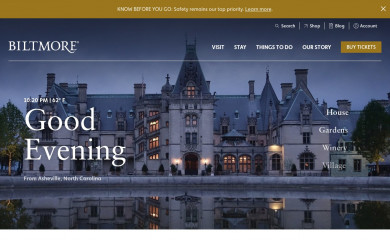 biltmore.com screenshot