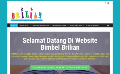 bimbelbrilian.com screenshot