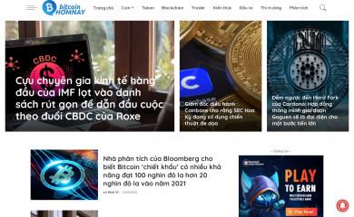 bitcoinhomnay.net screenshot