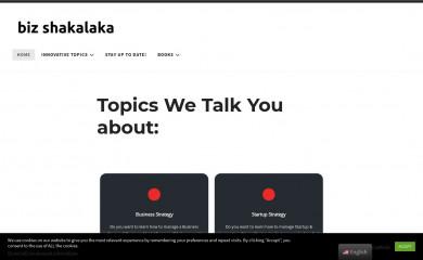 bizshakalaka.com screenshot