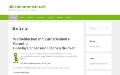 blachenmonster.ch screenshot