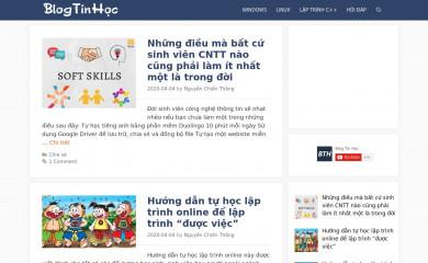 http://blogtinhoc.vn screenshot