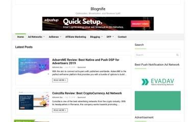 http://blognife.com screenshot